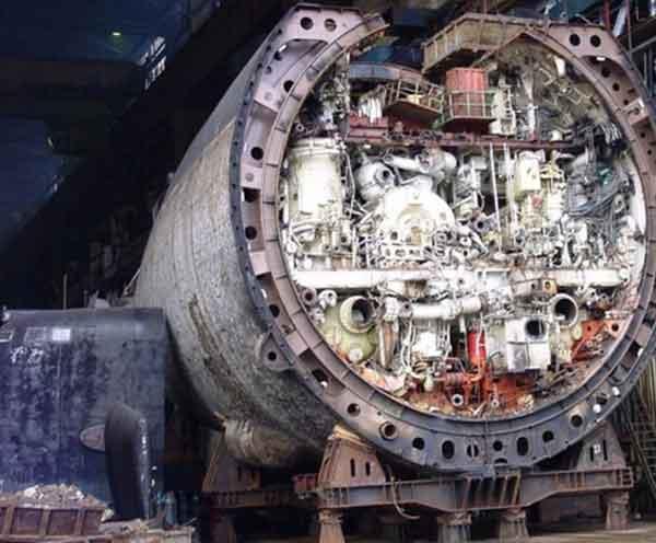 атомной подводной лодки,