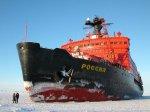 Атомоход «Россия» вернулся с Балтики в родной порт