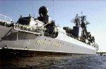 Надводный ракетный крейсер «Маршал Устинов» спустят на воду из дока судоверфи в Северодвинске для завершения ремонта и модернизации