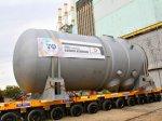 На первом блоке АЭС в Беларуси установили корпус ядерного реактора
