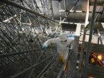 На Чернобыльской АЭС демонтируют конструкции под аркой НБК